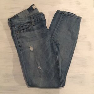 Textile Distressed Skinny Jeans Size 29